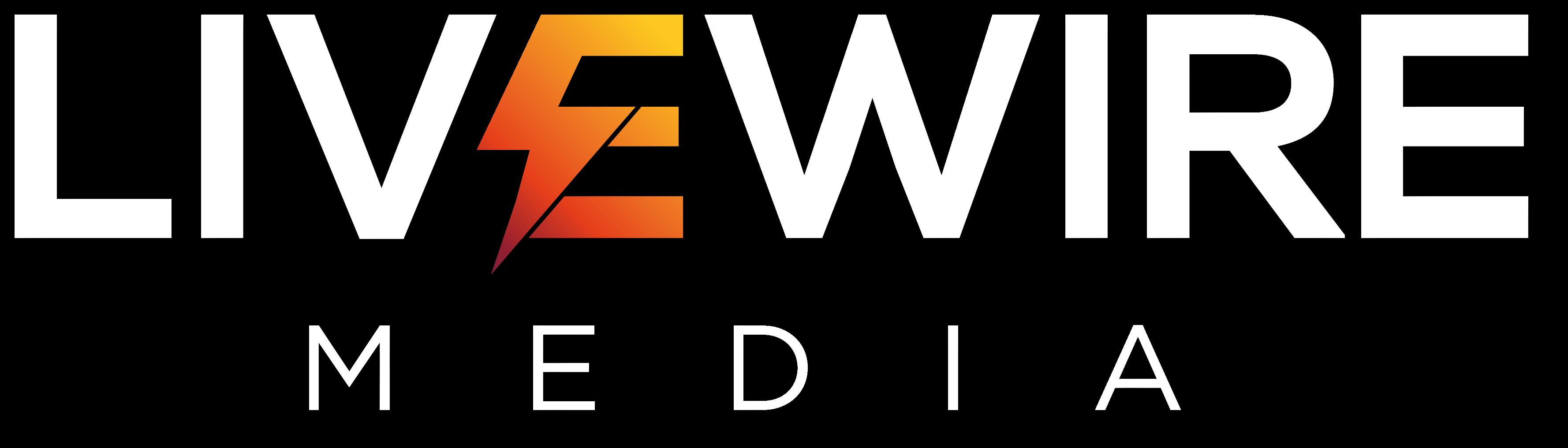 livewire media logo white